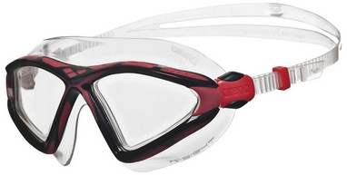 Маска для плавания Arena X-Sight 2, clear-clear-red (1E091-54)