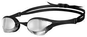 Очки для плавания Arena Cobra Ultra Mirror, silver-black-black (1E032-555)