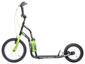 Самокат двухколесный Yedoo City Ltd Hipster, зеленый (608976)