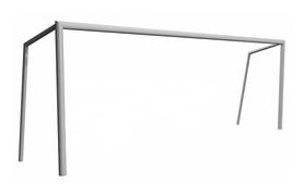 Ворота футбольные Kidigo, 750х254 см (22-13-03.1/3)