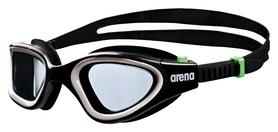 Очки для плавания Arena Envision, black-smoke-green (1E680-56)