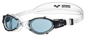 Очки для плавания Arena Nimesis Crystal Large, smoke-clear-black (1E782-55)