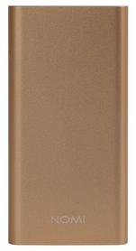 Аккумулятор внешний Nomi E100 10000 mAh, золотой (227741)