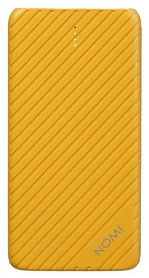Аккумулятор внешний Nomi F050 5000 mAh, желтый (324697)