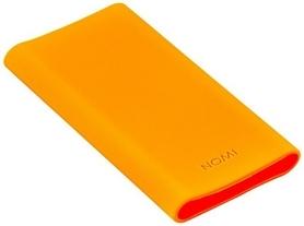 Чехол силиконовый Nomi NN для Power bank Nomi E100, оранжевый (325788)