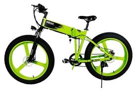 "Электровелосипед Rover Monster 1 - 26"", рама - 26"", лаймовый (345269)"