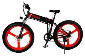 """Электровелосипед Rover Monster 1 - 26"""", рама - 26"""", красный (345271)"""