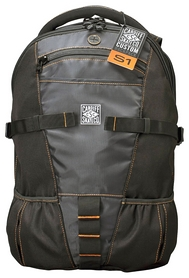 Рюкзак для роликов Cardiff Skate Backpack - Orange Accent, оранжевый (S1-BP01)