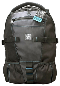 Рюкзак для роликов Cardiff Skate Backpack - Blue Accent, синий (S2-BP01)
