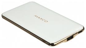Аккумулятор внешний Maxco Razor Type-C 8000 mAh, белый (335410)