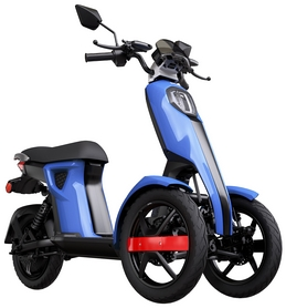 Электроскутер Doohan iTango HO, синий (352981)