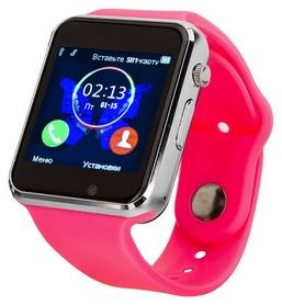 Часы умные ATRiX Smart Watch E07, розовые (217411)