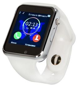Часы умные ATRiX Smart Watch E07, белые (217409)
