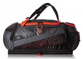 Сумка спортивная Ogio Endurance 9.0 Bag, оранжево-серая (112035.512) - Фото №2