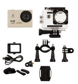 Фото 2 к товару Экшн-камера ATRiX ProAction A7 Full HD A7S, серебристая (269234)