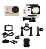 Экшн-камера ATRiX ProAction A7 Full HD A7S, серебристая (269234) - фото 2