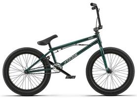 "Велосипед BMX Radio Astron FS 2018 - 20"", рама - 20,6"", зелено-черный (01005100118-black/green splatter-2018)"