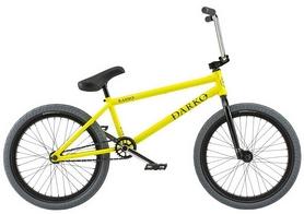 "Велосипед BMX Radio Darko 2018 - 20"", рама - 20,5"", желтый (01005070218--2018)"