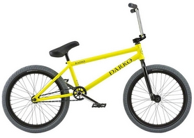"Велосипед BMX Radio Darko 2018 - 20"", рама - 21"", желтый (01005080218--2018)"