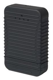 Устройство зарядное Powertraveller Powerchimp 4A, черное (PCH-4A001)