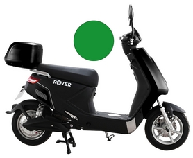 Электроскутер Rover Element 03, зеленый (346594)