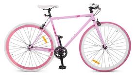 """Велосипед городской Profi Fix26c701 – 28"""", рама - 56 см, розовый"""