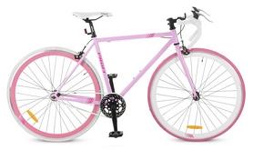 """Велосипед шоссейный Profi Fix26c70-2h – 28"""", рама - 56 см, розовый"""