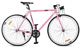"""Велосипед шоссейный Profi Jolly S700c-4 – 28"""", рама - 53 см, розовый"""