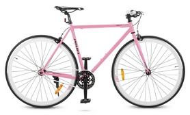 """Велосипед шоссейный Profi Jolly S700c-4 – 28"""", рама - 56 см, розовый"""
