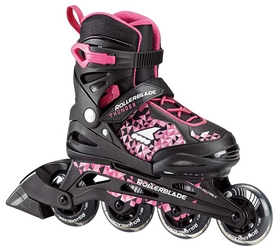 Коньки роликовые раздвижные Rollerblade Thunder G 2018, розовые