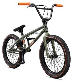 "Велосипед BMX Mongoose Legion L40 2018 - 20"", рама - 20,5"", зеленый (M41408M)"