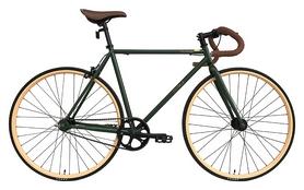 """Велосипед шоссейный Outleap Greenwich 2017 - 28"""", рама - 55 см, черный"""