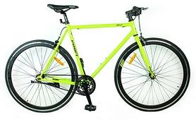 """Велосипед шоссейный Profi Jolly S700C-3 – 28"""", рама – 56 см, салатовый"""