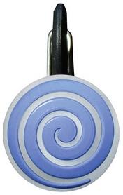 Карабин светодиодный Nite Ize Carb Clip S Biner NI653, синяя спираль (4823082710942)