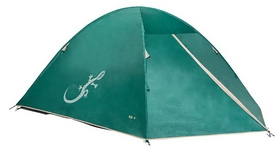 Палатка четырехместная Freetime Isis 4 2018 - бирюзовая (3660323301375--2018)