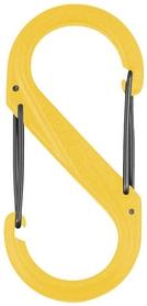 Карабин Nite Ize Plastic Carb S Biner S2 NI790, желтый (4823082709410)