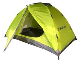 Палатка двухместная Saxifraga Hailstorm 2 2018 - салатовая (SOT18U2H--2018)