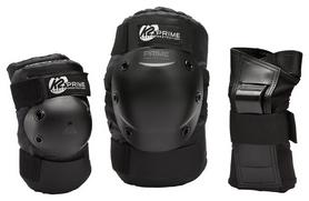 Защита для катания (комплект) K2 Prime M Pad Set 2017, черная