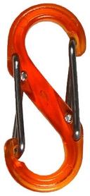 Карабин Nite Ize Plastic Carb S Biner S4 NI674, оранжевый (4823082709557)