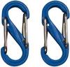 Комплект карабинов Nite Ize Plastic Carb S Biner S0 NI786, синий (4823082709595)