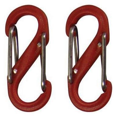 Комплект карабинов Nite Ize Plastic Carb S Biner S0 NI787, красный (4823082709601)