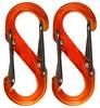 Комплект карабинов Nite Ize Plastic Carb S Biner S0 NI624, оранжевый (4823082709632)