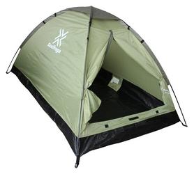 Палатка двухместная Saxifraga Monolayer 2 2017, серо-зеленый (SOT17U3P)
