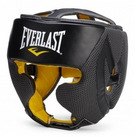 Шлем боксерский Everlast EverCool черный