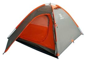 Палатка трехместная Saxifraga Thunderdome 2018, серо-красный (SOT18U4C)
