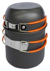 Набор посуды из анодированного алюминия Saxifraga Vessel Set 2 2017, серо-оранжевый (SCC17U1L)