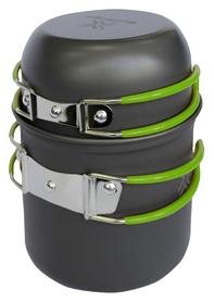 Набор посуды из анодированного алюминия Saxifraga Vessel Set 2 2018, серо-зеленый 2018 (SCC18U1L)
