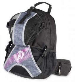Рюкзак для роликов Rollerblade Back pack LT 25 2017, grey-pink (06R21200 002--2017)
