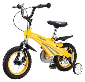 Велосипед детский Miqilong 12 SD, желтый (MQL-SD12)