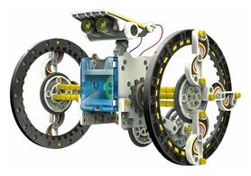 Конструктор Робот на солнечных батареях 14 в 1 CIC 21-615 (867009)